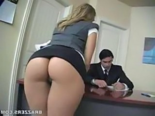 Ass Office Secretary Upskirt Upskirt