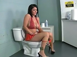 Blowjob Toilet Bathroom
