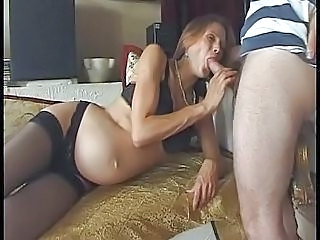 Blowjob French Pregnant Stockings Stockings French