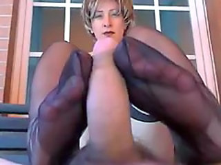 Mature Pov Footjob Foot Nylon Pov Mature