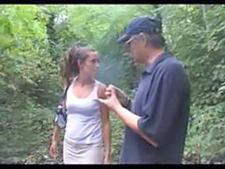 French Outdoor Forest Outdoor French Milf French