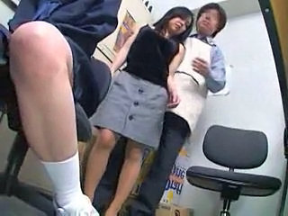 Japanese Office Secretary Dirty