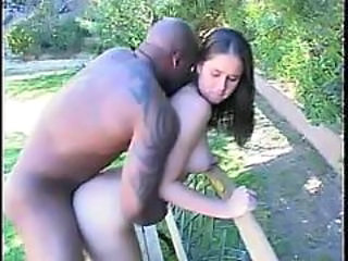 Doggystyle Interracial Outdoor Outdoor