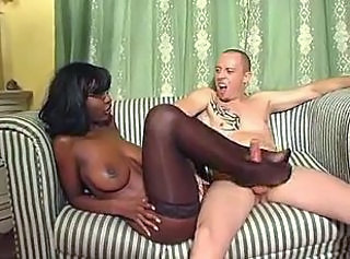 Bus Ebony Interracial Natural Stockings Stockings Interracial Busty Ebony Busty