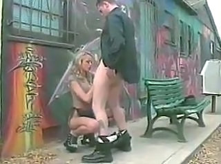 Blowjob Outdoor Police