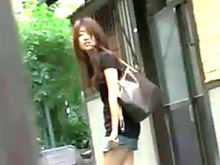 Asian Forced Outdoor Public Outdoor Public Asian Public Forced
