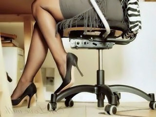 Legs Office Skirt Stockings High Heels Stockings