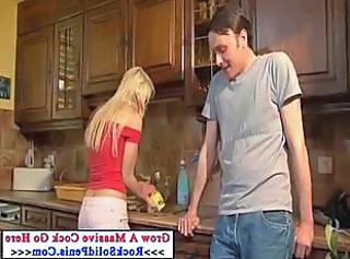 Blonde Kitchen   Wife Wife Milf