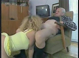 Blonde Blowjob Lingerie Older Lingerie