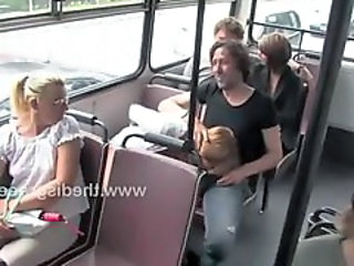Blowjob Bus Clothed Public Public Bus + Public