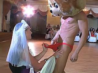 Bride Funny Handjob Party Cfnm Party Public