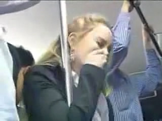 Blonde Bus Abuse