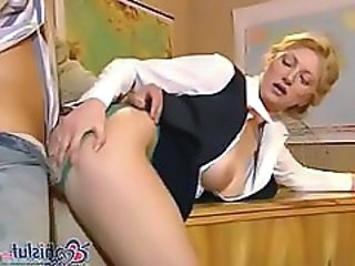 Blonde Clothed Doggystyle Hardcore Teacher Uniform Clothed Fuck Teacher Student