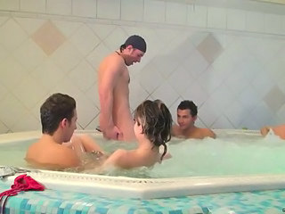 Gangbang Groupsex Party Pool