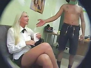 Blonde HiddenCam Voyeur