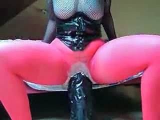 Dildo Latex Pantyhose Toy Huge Pantyhose