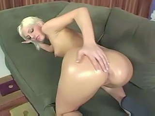 Amazing Ass Blonde Doggystyle Oiled Doggy Ass Oiled Ass