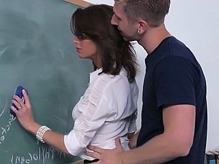 Brunette  School Teacher School Teacher