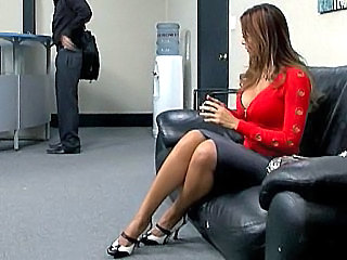 Big Tits  Office Skirt Boss