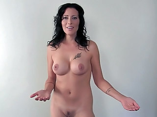 Brunette Mature Nudist Mother