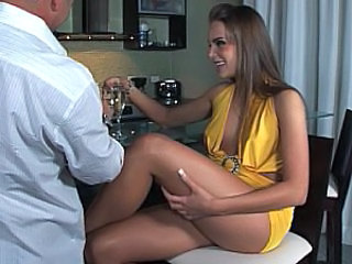 Babe Drunk Legs Kitchen Sex Drunk Party