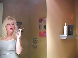 Blonde Mature Smoking Blonde Mature
