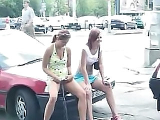 Funny Pissing Young Car Teen Polish Outdoor Outdoor Teen Public Teen Teen Outdoor Teen Public Public