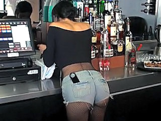 Ass Drunk Fishnet Jeans Fishnet Public