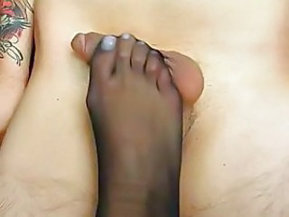Feet Footjob Foot Nylon