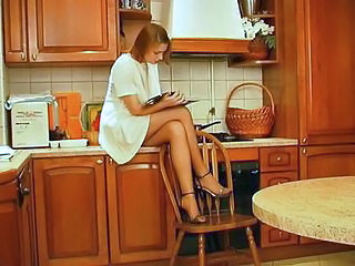 Amateur Kitchen Redhead Sister Young Sister Brother