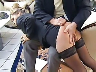 Secretary Spanking Stockings Stockings