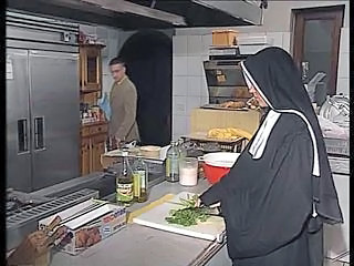 Anal German Kitchen Nun German Anal German