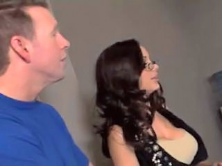 Amazing Brunette Glasses  Milf Ass Boss