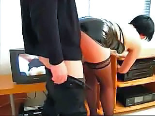 Ass Latex Secretary Stockings Stockings
