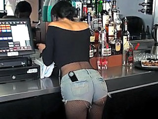 Amazing Ass Drunk Fishnet Public Fishnet Public