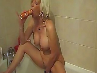 Bathroom Insertion Mature Insertion Bathroom Mature Pussy