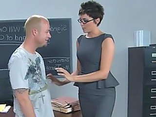 Glasses  School Teacher Milf Ass School Teacher