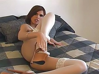Brunette Stockings Stockings
