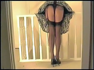 Panty Skirt Upskirt Stockings Upskirt Nylon Thong Panty Upskirt