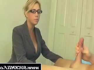 Blonde  Glasses  Blonde Mom Bedroom Milf Ass