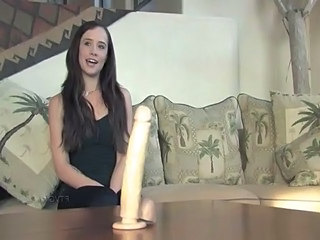 Brunette Dildo  Toy
