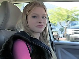 Amazing Blonde Car Student Teen Blonde Teen Car Teen Spreading College Teen Blonde