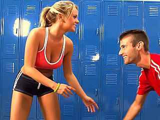 Blonde Cute Sport Cute Blonde Fight