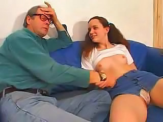 Amazing Daddy Panty Pigtail Pornstar Redhead Small Tits Daddy