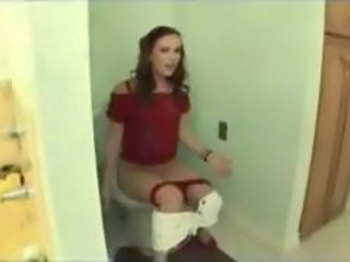 Amateur Homemade Toilet Surprise Amateur