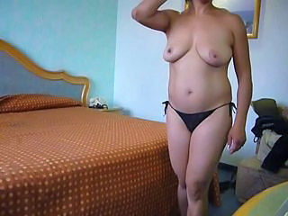 Amateur Natural Panty  Big Tits European Hotel