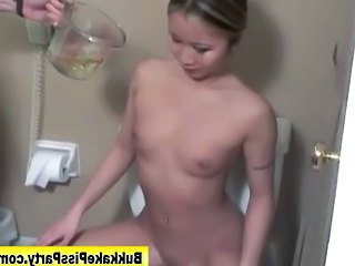 Asian Bukkake Fetish Pissing