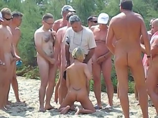 Beach Blowjob Gangbang Outdoor Outdoor