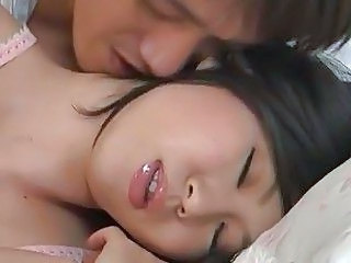 Asian Babe Kissing Pornstar Sleeping Asian Babe Sleeping Babe