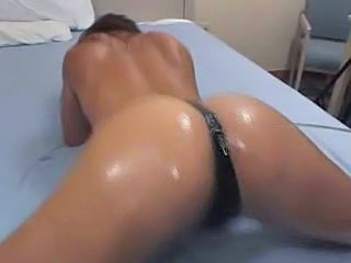 Ass Oiled Panty Oiled Ass